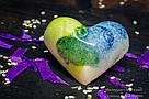 """Шоколадные конфеты ручной работы """"Сердце"""", 1 шт, 20 г., фото 3"""