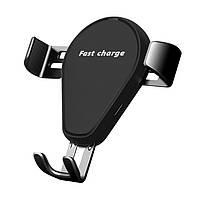 Беспроводное зарядное устройство держатель телефона в воздуховоде авто, длина и ширина автонастраиваются