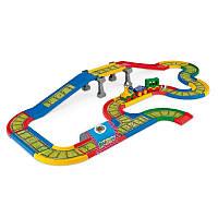 Игровой набор 51711 железная дорога, длина 4,1 м Kid Cars, ТМ Wader