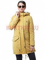 Женская куртка-парка CLASNA ACW14D-247C L, XL 46, 48  размер, фото 1