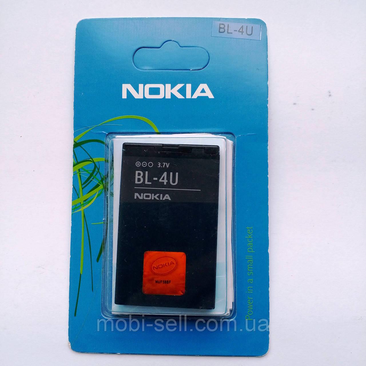 Аккумулятор Nokia BL-4U high copy original 75% 3120c, 500, 5250, 5330, 5530, 5730, 600, 6212c, 6600s, 8800 Art