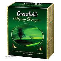 Зеленый Чай Greenfield Flying Dragon (100х2 г) в картонной упаковке