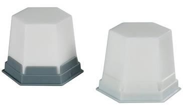 Воск GEO Snow-white L (снежно белый) моделировочный, 75г Renfert (Ренферт)