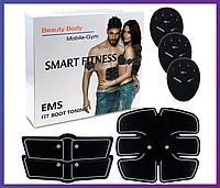 Тренажер миостимулятор для пресса Smart Fitness EMS Fit Boot Toning, фото 1