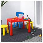 Детский стул MAMMUT для дома и улици, синий, IKEA, 603.653.46, фото 2