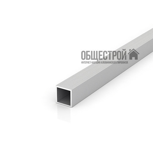 Труба алюмінієва квадратна 25х25х2, а анодована мм