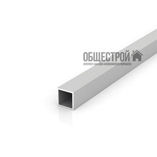Труба алюминиевая квадратная 25х25х2 без покрытия