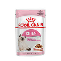 Royal Canin Kitten Instinctive в соусе. Вес 85гр.12шт