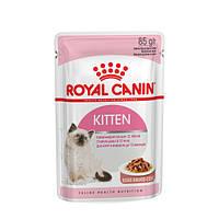 АКЦИЯ! 8+4 В ПОДАРОК! Royal Canin Kitten Instinctive в соусе. Вес 85гр.12шт