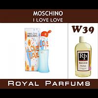 Духи на разлив Royal Parfums W-39 «I Love Love» от Moschino