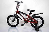 """Велосипед """"NEXX BOY-16"""" Красный-Сплэш"""