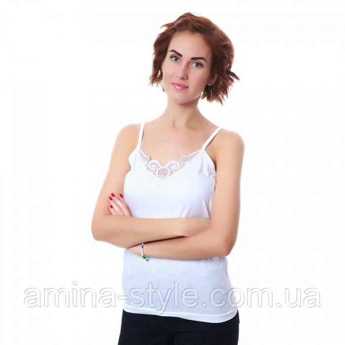 Майки женские гипюр, хлопок. Размер 6, 7. Турция : продажа ... - photo#4