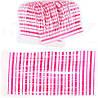 Силиконовая юбочка для рыболовных приманок (50 прядей) Перламутрово-розовая