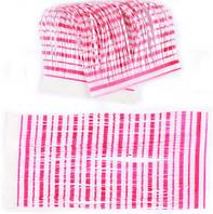 Силиконовая юбочка для рыболовных приманок (50 прядей) Перламутрово-розовая, фото 1