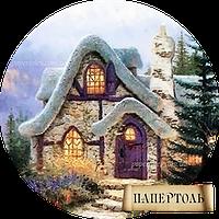 Папертоль РТ130120 Домик гнома (мини) 10*10см