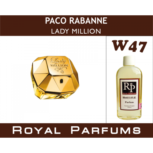 Духи на разлив Royal Parfums W-47 «Lady Million» от Paco Rabanne