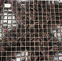 Коричнева мозаїка скло з авантюрином Vivacer XG45