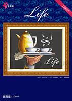 ДОМЕ 110607 Жизнь, набор для вышивания нитками