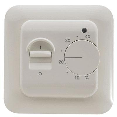 Терморегулятор IN-THERM RTC 70 механический для теплого пола, систем отопления, наружного обогрева.