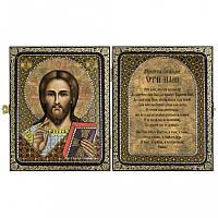 Новая Слобода СА7101 Христос Спаситель, набор для вышивания бисером