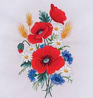 Матренин Посад 5505/ГЛ Маков цвет, набор для вышивки гладью