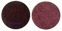 Круг скотч-брайт по металлу для УШМ, бордовый - 3М™ Scotch-Brite SC-DH, A MED (P220)