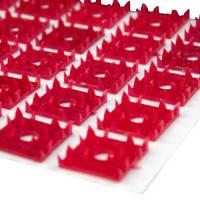Аппликатор коврик на хлопковой ткани 70 шт элементов, 25х35 см Пласт