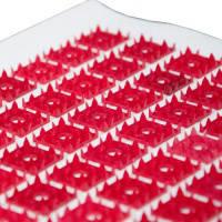 Аппликатор коврик на хлопковой основе 140 шт элементов, 25х70см Пласт