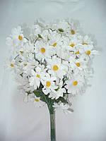 Веточка ромашки (20 шт)-искусственные цветы, фото 1