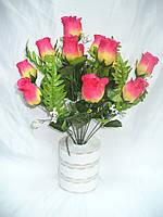Букет роз (12 шт в уп) ,50см