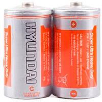 Батарейка R14 C HYUNDAI С, 1.5В батарея