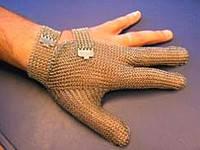 Кольчужная трехпалая перчатка S Niroflex Friedrich Muench (Германия) 2311100000