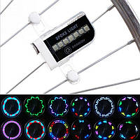 Светодиодная подсветка колеса велосипеда 14 диодов
