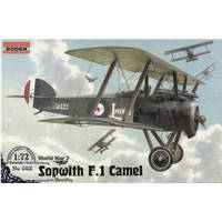 Сборная модель самолета Sopwith F.I Camel (w/ Bentley), Roden (RN053)