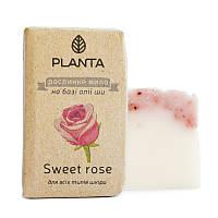 PLANTA Мыло Planta Sweet rose с маслом Ши