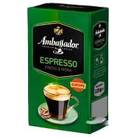 Кофе молотый Ambassador Espresso 225 грамм