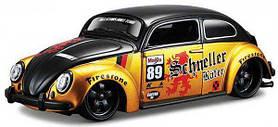 Автомодель (1:24) Volkswagen Beetle 31023 black/gold