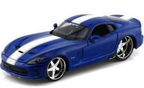 Автомодель (1:24) 2013 SRT Viper GTS 31363 met. blue