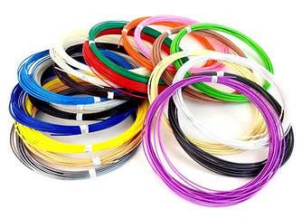 PLA Пластик для 3D ручек (20 цветов по 10 метров)