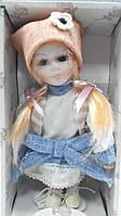 Кукла фарфоровая декоративная Аня высота 20 см