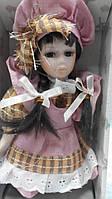 Кукла фарфоровая декоративная Настя высота 20 см