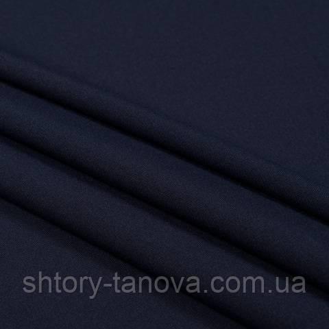 Габардин, тёмно-синий