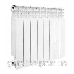Биметаллический радиатор отопления MIRADO 500/96, секционная отопительная батарея биметалл