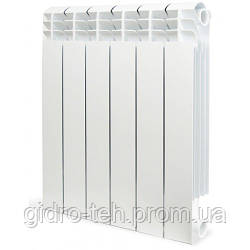 Биметаллический радиатор отопления SIRA CONCURRENT H.500 35 секционная отопительная батарея биметалл