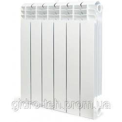 Биметаллический радиатор отопления SIRA CONCURRENT H.350 35 секционная отопительная батарея биметалл