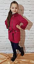 Кардиган-пальто для девочки р. 134-152 марсалла, фото 2