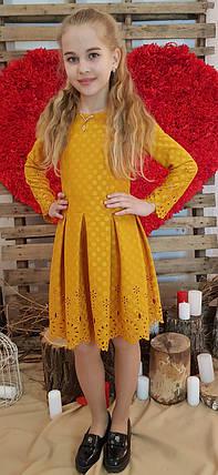 Платье для девочки Клеопатра  р.140-158 золото, фото 2
