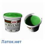 Монтажная паста Acrylmed зеленая с герметиком 4 кг Польша