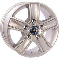 Литые диски Zorat Wheels BK473 R16 W6.5 PCD5x130 ET55 DIA89.1 S