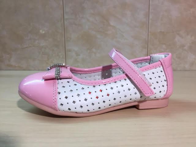 Детские нарядные туфли с брошкой для девочек 21-29рр. ТОМ.М - Кошик ab567094fad3a